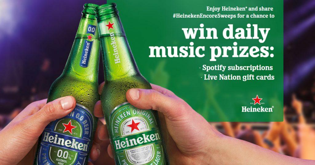 Heineken Summer Music Sweepstakes - Julie's Freebies