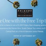 The One with the Free Trip to L.A. Sweepstakes