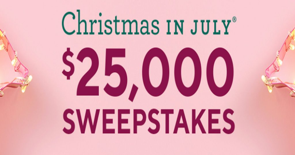 Christmas In July Qvc.Qvc Christmas In July Sweepstakes Julie S Freebies