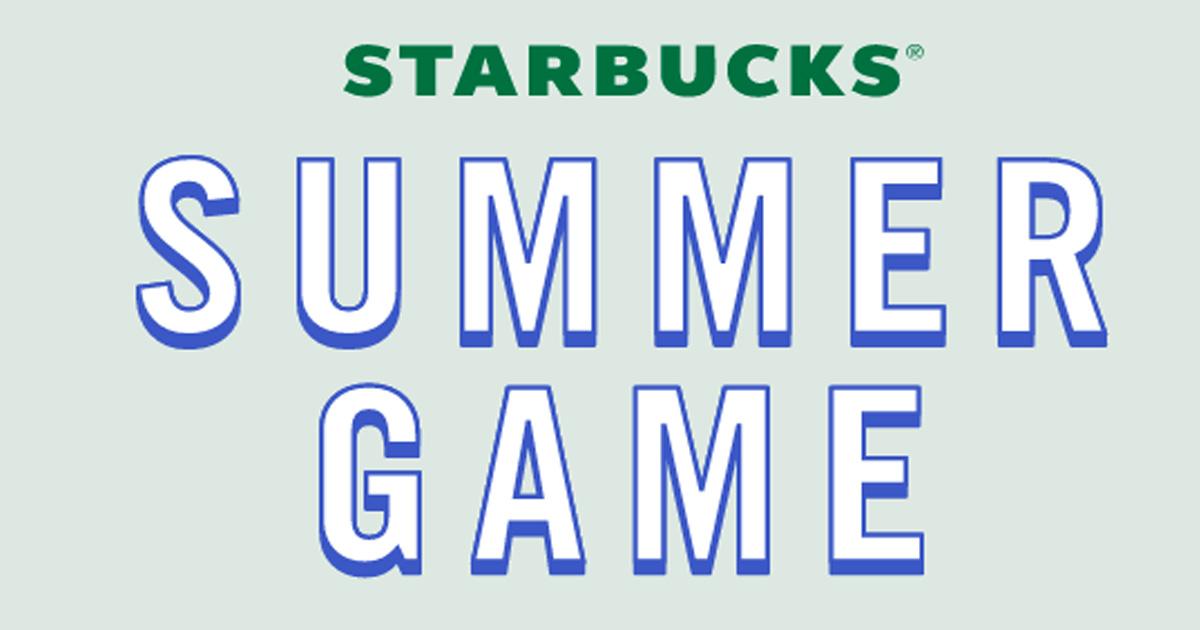 starbucks summer game 2019
