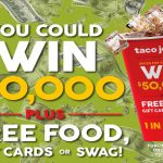 Taco John's 50th Anniversary Sweeps & Instant Win Game