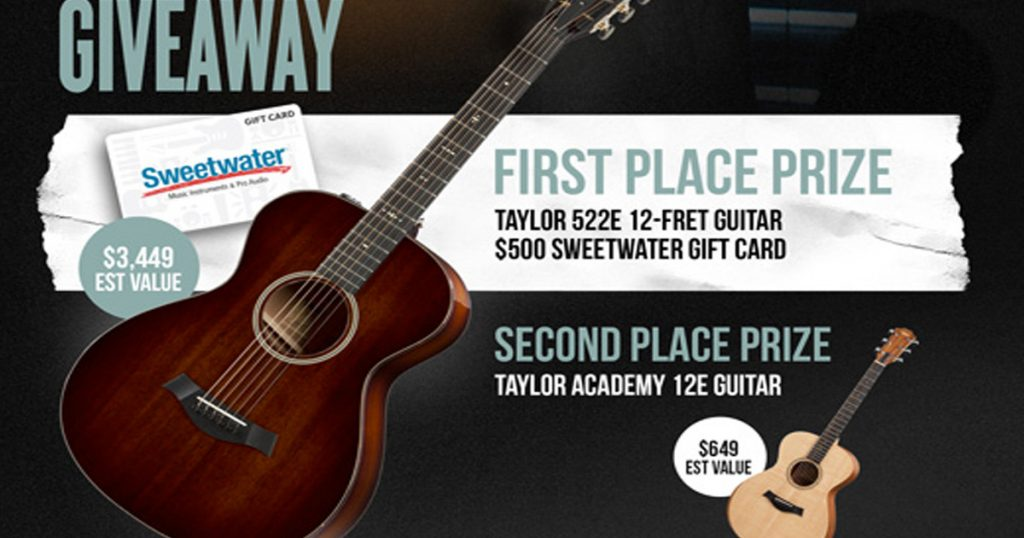 The Chris Tomlin Taylor Giveaway - Julie's Freebies
