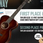 The Chris Tomlin Taylor Giveaway
