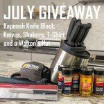 Walton's July Giveaway