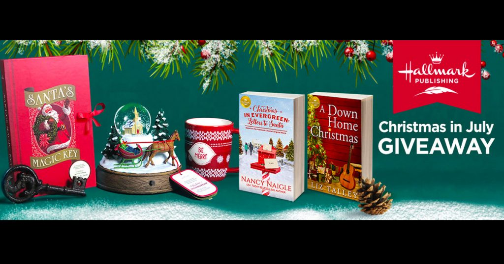 Hallmark Christmas In July 2019.Hallmark Channel Christmas In July Sweepstakes Julie S