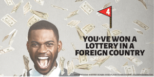 Foreign Lottery Wins are Prize Scams