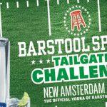The New Amsterdam Vodka Barstool Sports Tailgate Rescue Contest