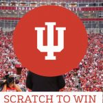 Visit Bloomington Gameday Giveaway Scratch to Win Sweepstakes