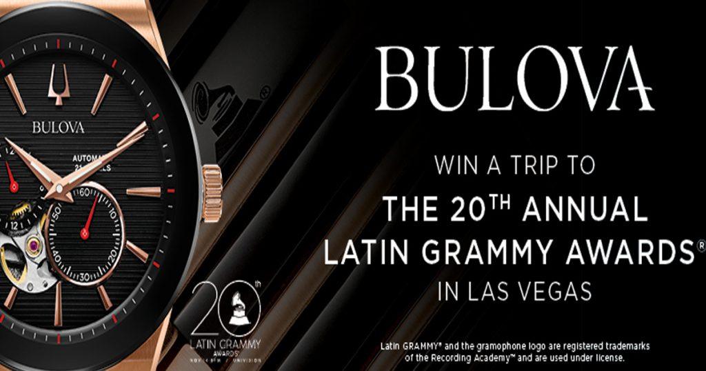 the zales bulova latin grammy awards sweepstakes julie s freebies the zales bulova latin grammy awards