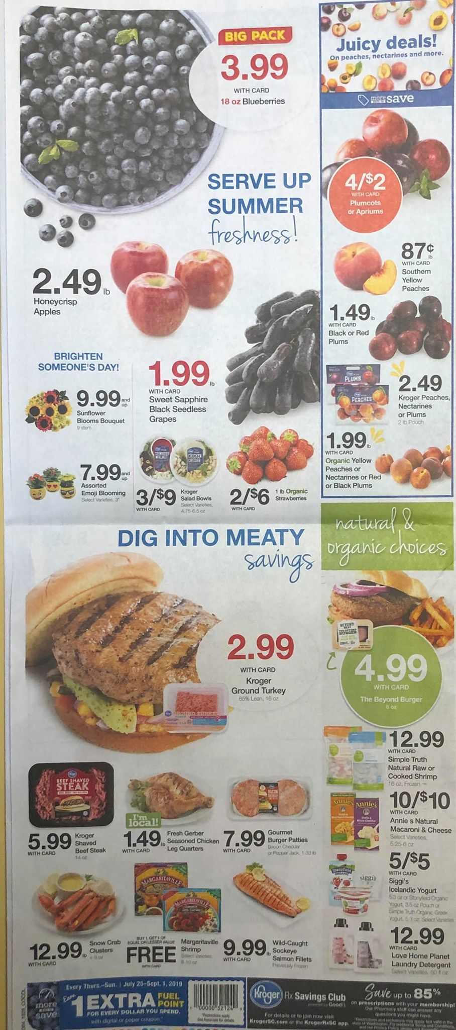 New Kroger Ad Scan for August 14, 2019 - Julie's Freebies