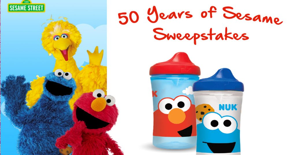 "The NUK ""50 Years of Sesame"" Sesame Street Sweepstakes"