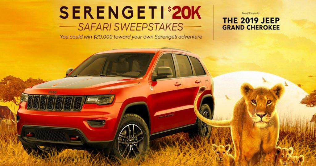 Serengeti $20K Safari Sweepstakes - Julie's Freebies