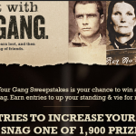 19 Crimes Share It With Your Gang Instant Win Game