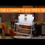 Tito's Fall Tailgating Sweepstakes