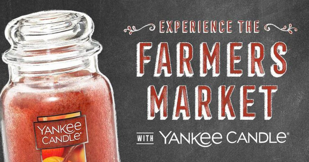 Yankee Candle Farmers Market Sweepstakes - Julie's Freebies