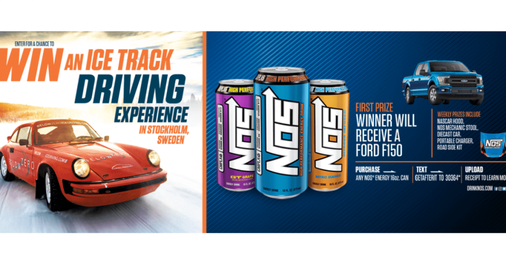 NOS Energy Drink 2019 Get Sideways on Snow and Ice