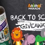Animal Parade Back to School Giveaway