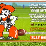 Oklahoma State University – Cavender's - Instant Win Sweepstakes