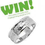 Celtic Knot Claddagh Ring Giveaway