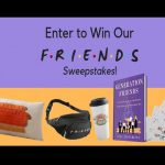 Friends 25th Anniversary Sweepstakes