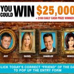 """Friends 25"" $25,000 Sweepstakes on TBS"