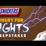 The SNICKERS Hungry for Frights Sweepstakes