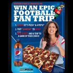 2019 Pepsi Jet's Pizza Football Sweepstakes