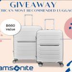 Samsonite Luggage Giveaway