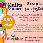 The Fall Scrap Lab Sweepstakes