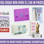 National Sewing Month Sweepstakes 2019