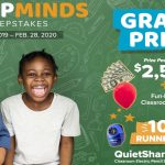 The 2019 - 2020 Bostitch Sharp Minds Sweepstakes