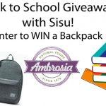Back to School Giveaway with Sisu
