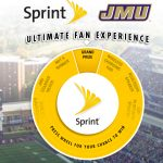JMU Sprint Ultimate Fan Experience Spin to Win Sweepstakes