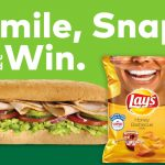 The Lay's Sweepstakes at Subway