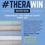 Therapedic Sheet Set Giveaway