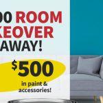 $2,500 Room Makeover Giveaway