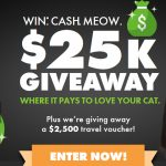 WIN. * CASH.MEOW $25K Giveaway
