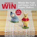 Pooh and Eeyore Salt & Pepper Shaker Set Giveaway