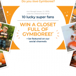 The Gymboree Weekly Super Fan Promotion