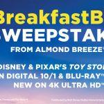 The Almond Breeze Toy Story 4 BreakfastBFFs Sweepstakes
