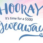 2019 Botanic Choice's Hooray! It's Time for a Giveaway Sweepstakes