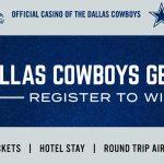 Dallas Cowboys Getaway Giveaway