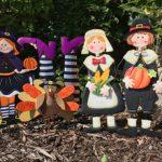 Autumn Yard Stake Giveaway
