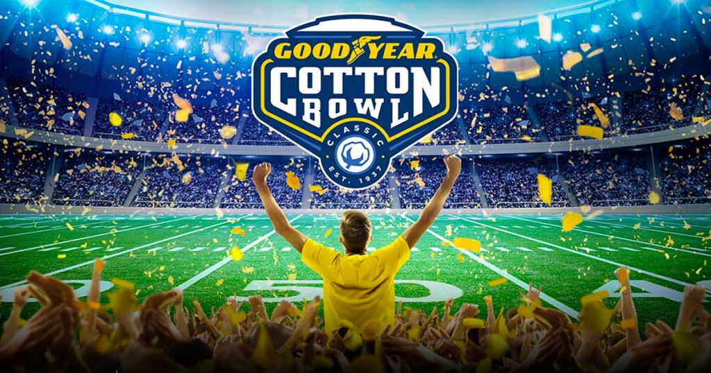 Goodyear Cotton Bowl Pick Your Play Sweepstakes - Julie's Freebies