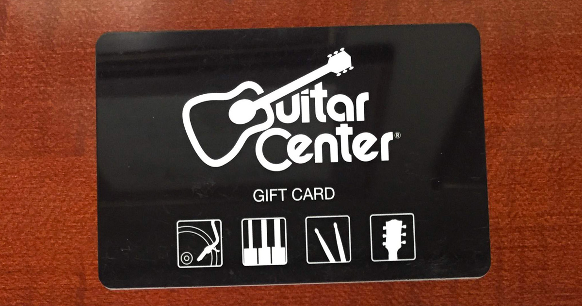 the guitar center guitar a thon shopping spree weekly sweepstakes julie 39 s freebies. Black Bedroom Furniture Sets. Home Design Ideas