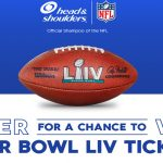 The Head & Shoulders Super Bowl LIV Sweepstakes at Walmart