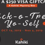 Trick-O-Treat Yo-Self Giveaway