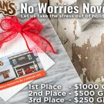Lehman's No Worries November Sweepstakes