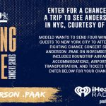 Modelo Fighting Chance Project Sweepstakes