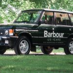 The Orvis Barbour Range Rover 125 Year Anniversary Sweepstakes
